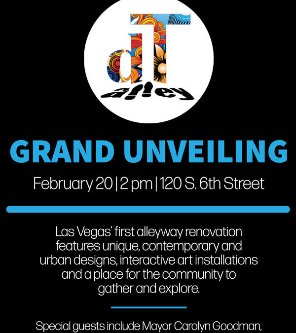 February 20, 2020 at 2pm – Grand Unveiling